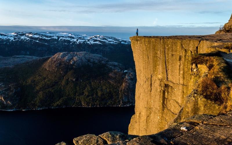 første vindmølle i norge